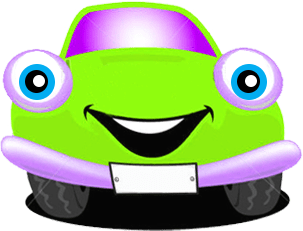 Happy Car Green